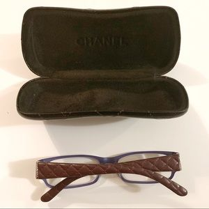 CHANEL Accessories - Chanel Reading Glasses with Case